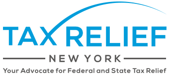 Tax Relief New York Mobile Logo